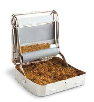 Original Hand Automatic Cigarette Metal Cassette Roll Tobacco Collocation Box Mod Smoking