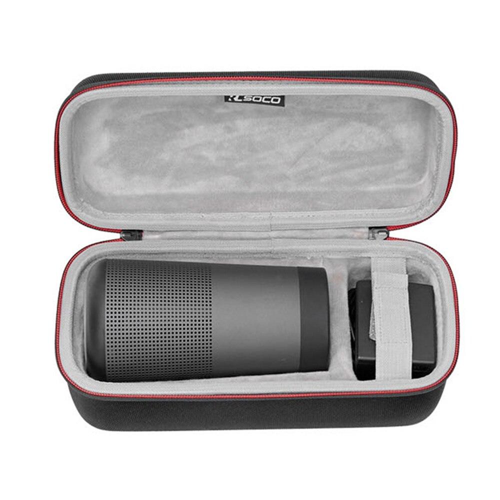 2018 Новый PU + EVA чехол для музыкальной колонки коробка чехол сумка чехол для Bose SoundLink Revolve Bluetooth динамик подходит для штекеров и кабелей