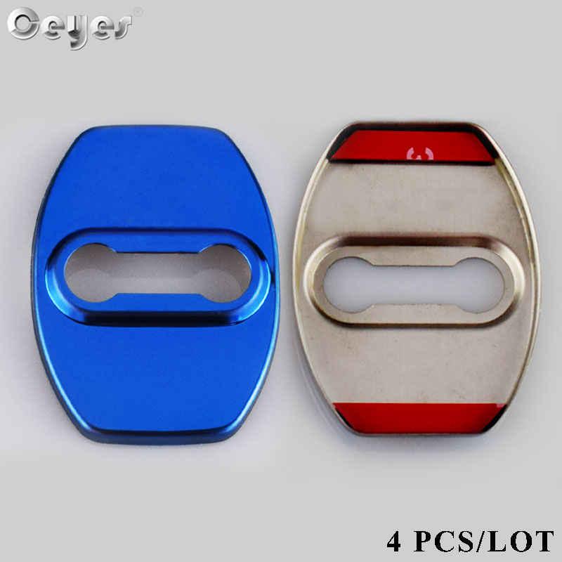 Ceyes estilo de coche para Lexus ES GS LS NX LX GX RX LF-A RC accesorios de coche cerradura de puerta Interior cubiertas protectoras y decorativas