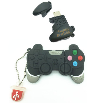 (over 10 PCS) Free LOGO customized Game Controllers USB Flash Drive 64GB Pen Drive 32GB Pendrive 16GB 8GB 4GB PSP Console Stisk