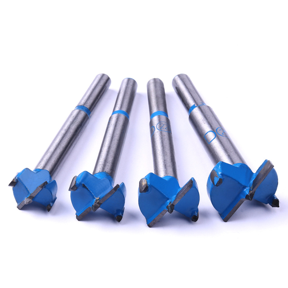 High Quality 4Pcs/Lot Forstner Tips Hinge Boring Drill Bit Set for Carpentry Wood Hole Cutter Auger Wood Drilling 16 20 22 25mm 30mm tool hinge cutter boring for woodworking wood drilling forstner bit tungsten carbide carpentry tool rotary