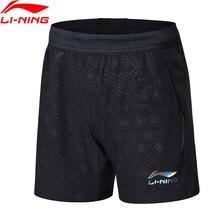 Распродажа) Li-Ning женские настольные теннисные шорты, обычные, подходят для сборной, дышащие спортивные шорты AAPN024 WKD584