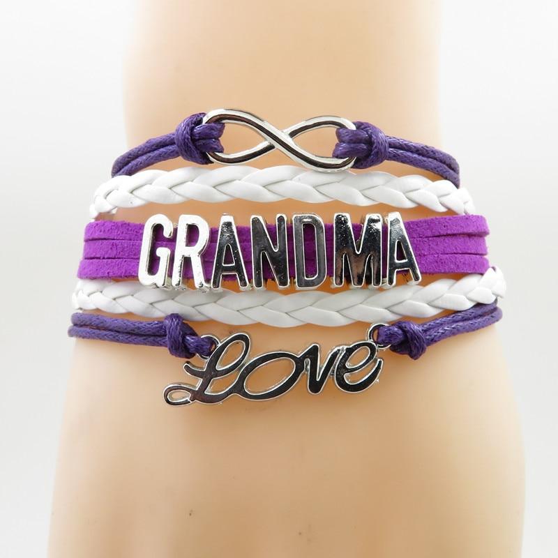 infinity grandma bracelet love grandma gift remember great grandma