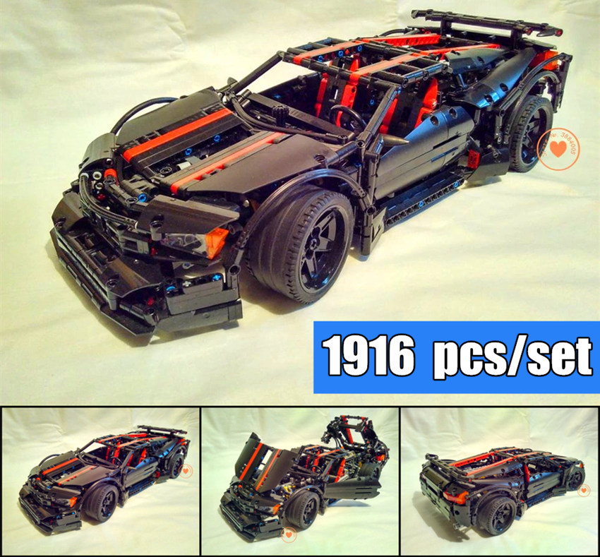 NEW MOC Assassin X19 fit technic racing car model car Building Block Bricks Toy boys gift