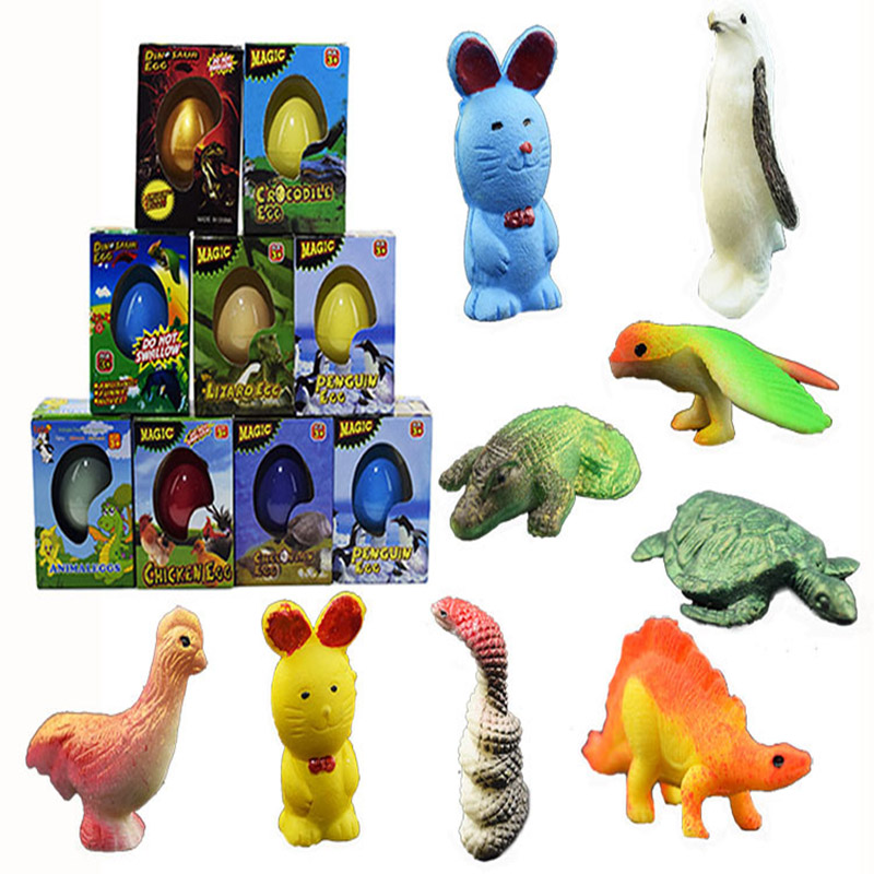 Expanding Egg Small Action Figure Toys Kids Toys Children s Novelty Toy Boxed Large Dinosaur Eggs