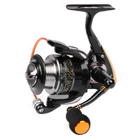 5.5:1 All Metal Lightweight Fishing Reel 9 Ball Bearing Spinning Fishing Reel Aluminum Alloy With Metal Wire Cup YL 20