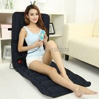 Full Body Mattress Massager Health Care Health MassageCushion Vibration far infrared heating health massage mattress blue