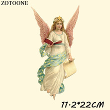 ZOTOONE Iron On Angel Patches For Clothes Decoration Iron-on Transfers Stickers Children DIY Accessory D