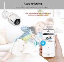 Techege 2MP WiFi Camera Audio Record 1080P 960P 720P ONVIF Wireless Wired P2P Onvif HD CCTV Camera Waterproof IP67 SD Card Slot