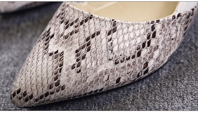 comfortable high heels pointed toe high quality snake grain elegance shoes - free shipping! Comfortable High Heels Pointed Toe High Quality Snake Grain Elegance Shoes – Free Shipping! HTB1u