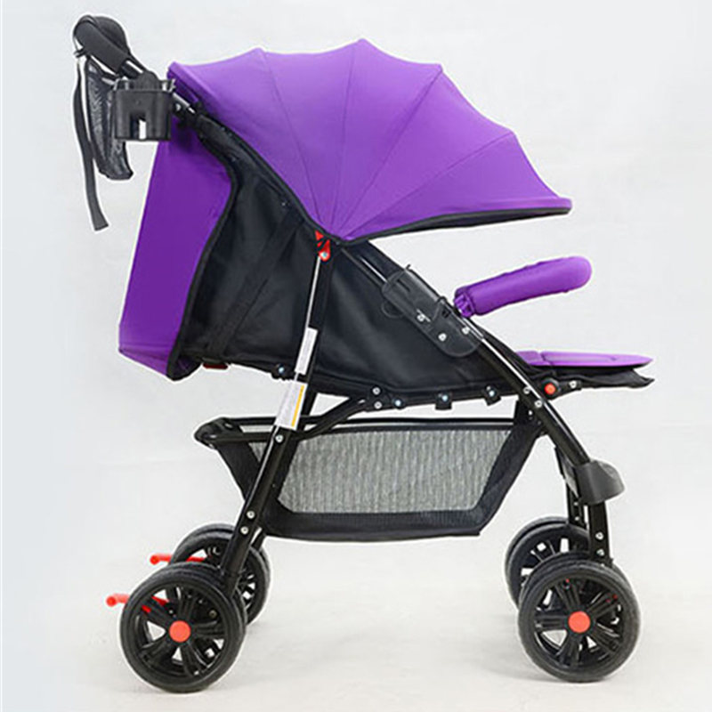 High-quality Baby Stroller High Landscape Lightweight Portable Baby Carriage Folding Shock Umbrella Stroller Cart Baby Pushchair
