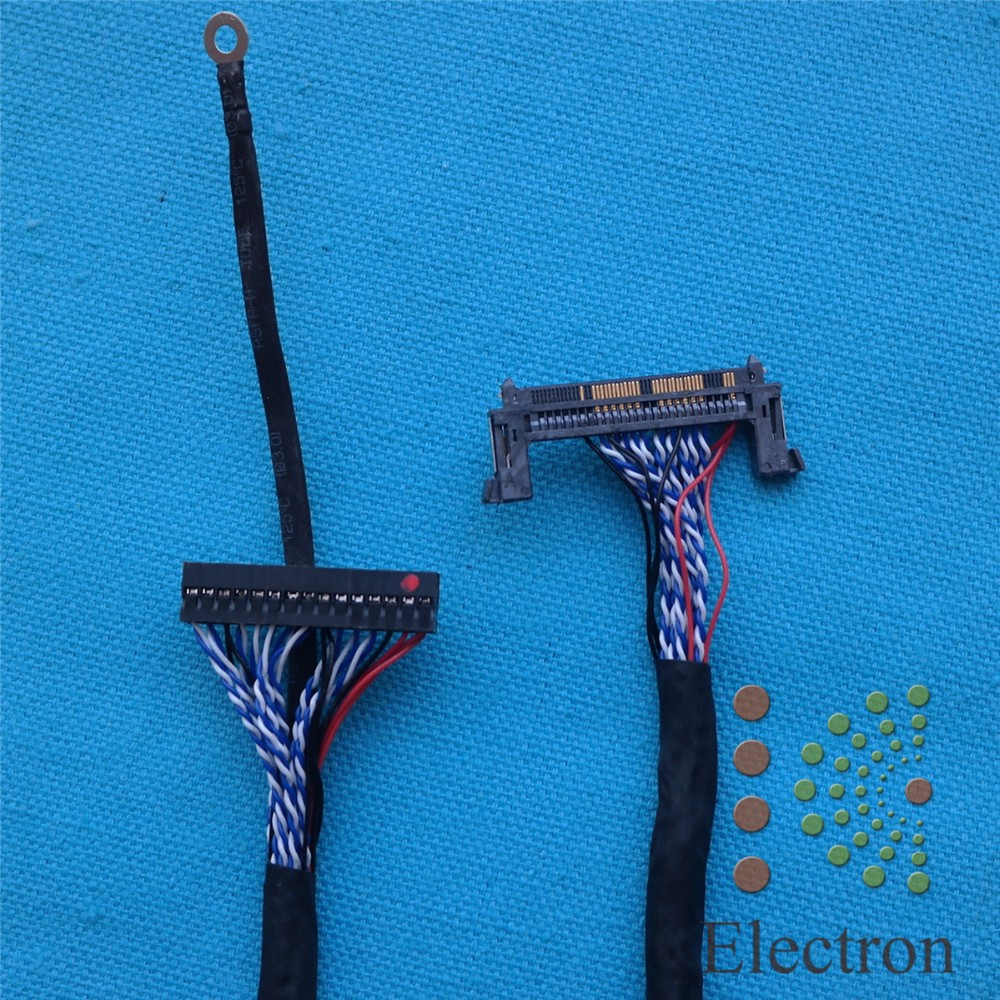 все цены на Universal LVDS Cable 51pin 30pin screen cable support for Samsung LG 26 inch-55 inch LCD driver board connected screen wire онлайн