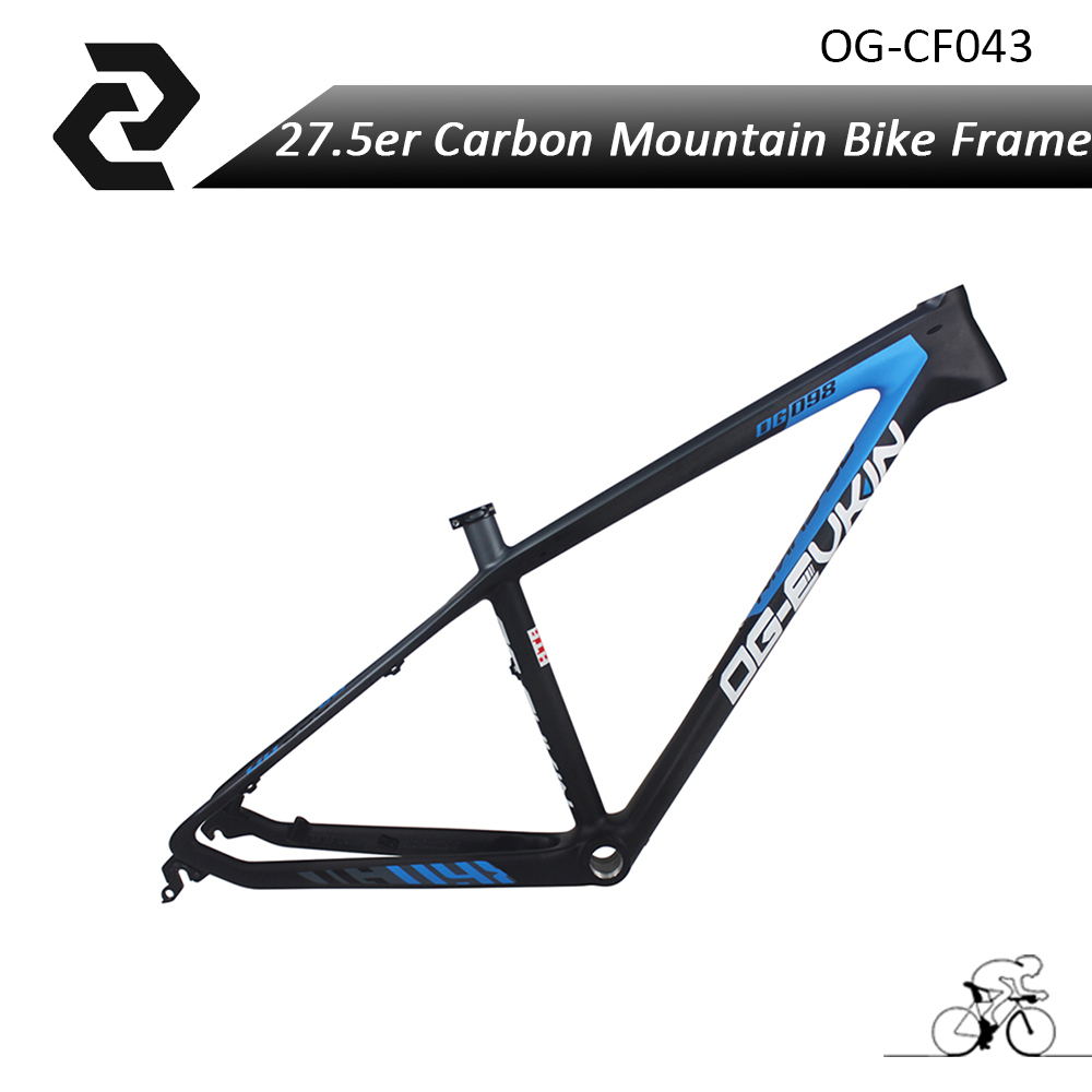 OG-EVKIN Chinese Carbon mtb Bicycle Frameset 27.5er 650B Bicicleta Full Carbon Fiber T700 Mountain bike MTB Frame UD BB68 2017 2018 anima 27 5 carbon mountain bike with slx aluminium wheels 33 speed hydraulic disc brake 650b mtb bicycle