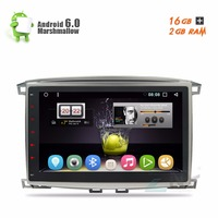 10 1 Pure Android Car Stereo For Toyota Land Cruiser 100 LC100 Lexus LX470 AutoRadio RDS