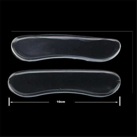 1 Pair Soft Silicone Gel Heel Shoe Pads Cushion Protector Shoe Pads comfort Foot Care Tool Pain Relif Shoes Pad Feet Heel Patch Karachi