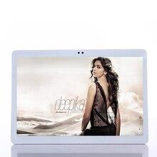 Caja del Regalo libre Android 7.0 tablet Pc de 10.1 pulgadas tablet PC Teléfono llamada 4G LTE octa core 1920×1200 4 + 64 Dual SIM IPS GPS FM tabletas