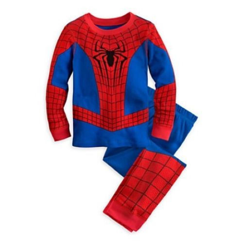 Baby Kids Boys Superhero Costume Nightwear Sleepwear Pajama Set Enfant Infant Children Kid Boy Clothing  0-5Y baby nightwear pajama suit for children pajamas for boys with long sleeve kids pjs sleepwear set children s clothing 1 2 4 year