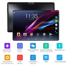 Global 10 inch tablet 4GB RAM 64GB Storage Phablet Octa Core Unlocked 4G Cell Phone Tablets Dual Sim Card Slots WIFI GPS Pad(China)