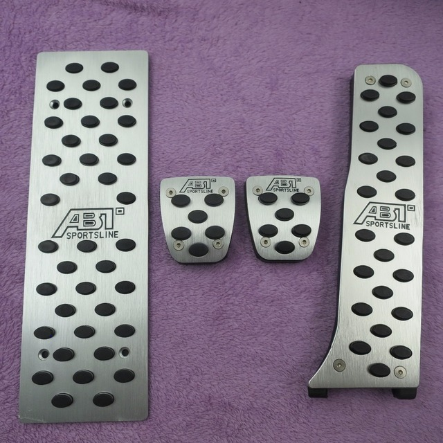 Car Accessories  For VW Volkswagen Golf 5 Golf 6 Jetta MK5 Scirocco Tiguan Skoda Octavia A5 AT/MT Gas Brake Footrest Pedals Pad