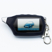 รัสเซียรุ่นพวงกุญแจ C9 Starline LCD รีโมทคอนโทรลสำหรับ Two Way Car Alarm Starline C9 Twage พวงกุญแจปลุกอัตโนมัติ