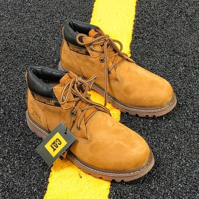 Au Chaussures Men Caterpillar C010 Acier De Sécurité Cat Travail 55Z6Uqwr