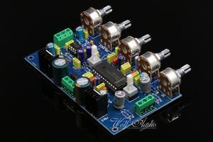 Image 3 - 새로운 어셈블리 lm4610 + ne5532 프리 앰프 lm4610 음색 제어 보드 (loudness switchable diy 포함)