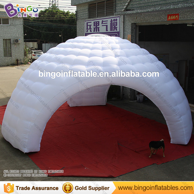 Free Delivery Three Legs Type White Big Inflatable Blow Up Tent For Sale Toy  Tents
