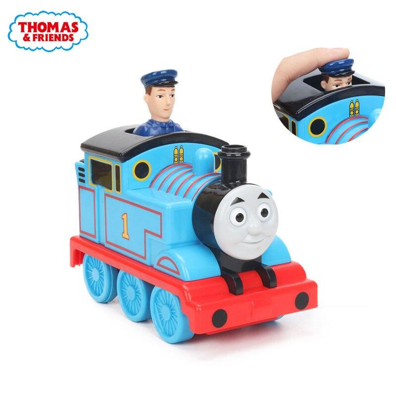 My First Thomas Friends Press & Go Thomas James Pulsa Y Avanza Hand Control Wooden Railway Thomas Engine Classic Model Toy T1468