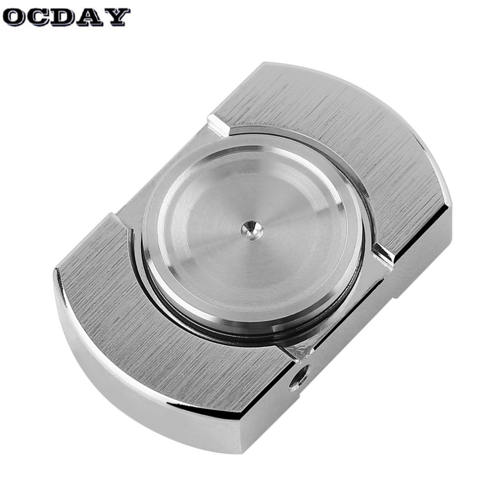 Hot! OCDAY Spinner EDC Creative Metal Hand Spinner for Autism and ADHD Stress Relieve Toys Finger Spiner Hand Toys Gift