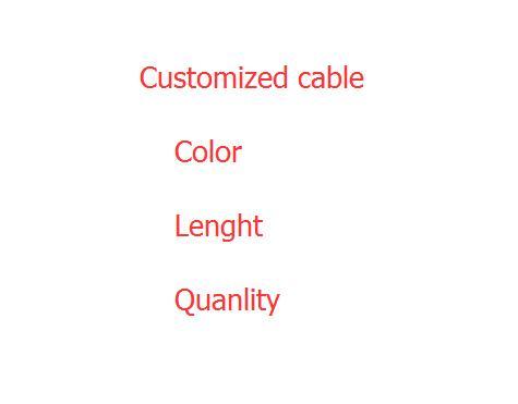 bilder für Kundenspezifische kabel 20 Cm Adapter ausgangs Kabelstecker für Bergbau 24Pin 20 + 4pin Dual-netzteil männlich zu weiblich kabel 18AWG 500 stücke