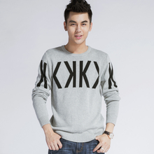 Solid Color Pullover Men O Neck Sweater Men Long Sleeve Shirt Mens Sweaters Wool Casual Dress Brand Cashmere Knitwear