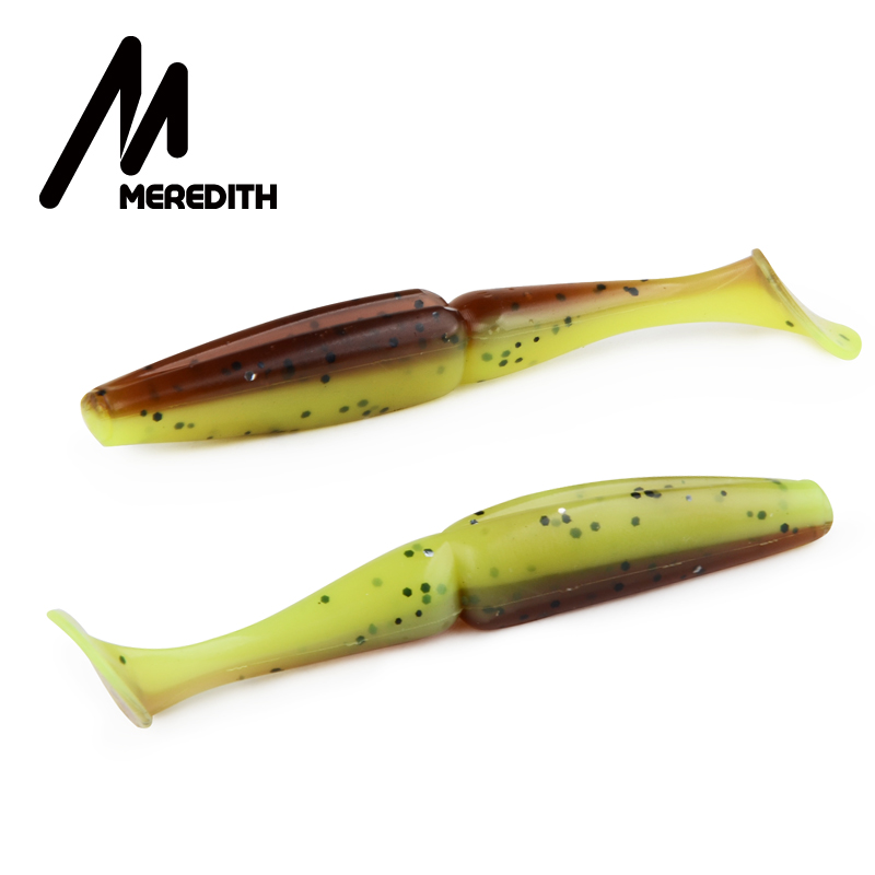 Meredith Crazy Shiner 10pcs 6g 9cm Fishing Soft Lure Fish Bait Swimbaits Silicone Bait Soft Wobblers lure Fishing Tackle Minnow meredith 13cm 11 5g 4pcs wobblers fishing lures easy shiner swimbaits silicone soft bait double color carp artificial soft lure