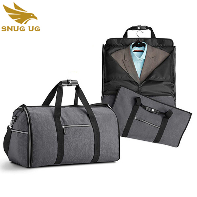 Waterproof Zipper Garment Bag Suit Durable Men Business Trip Travel For Clothing Case