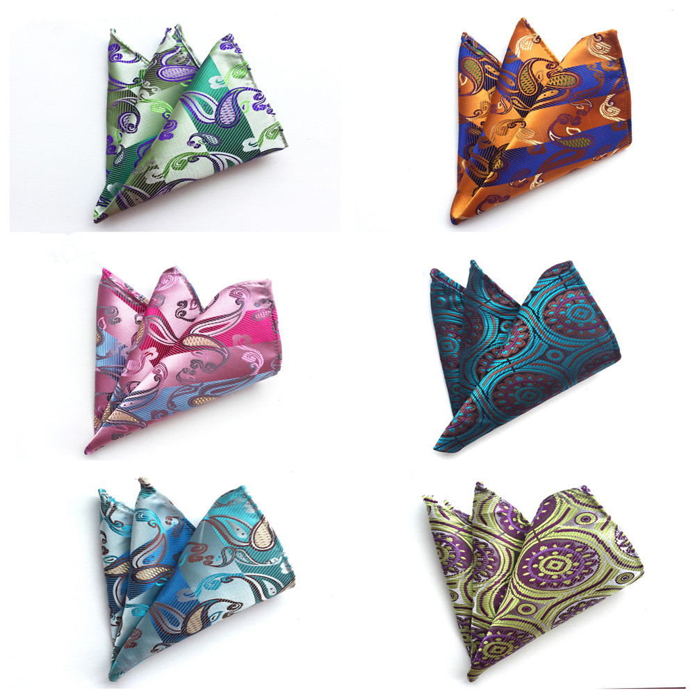 Fashion Explosion Business Men's Suit Accessories Pocket Towel Boutique Quality Polyester Silk Pocket Square Towel Handkerchief