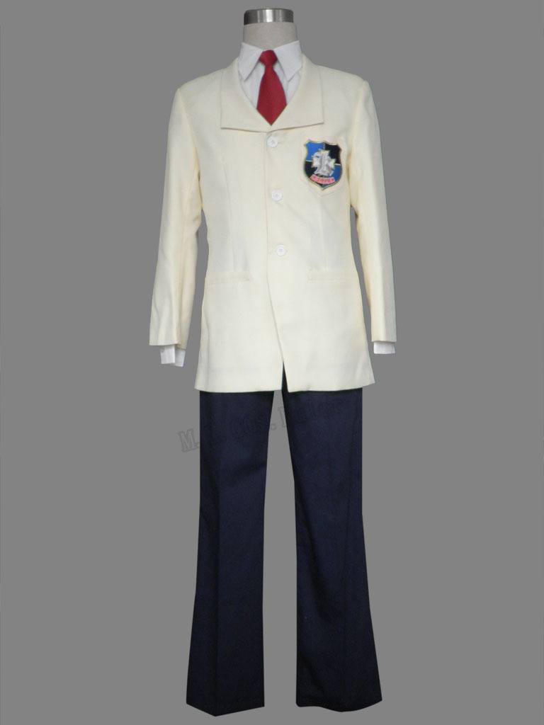 Clannad Kyo Fujibayashi Boy School Uniform Cosplay Costume