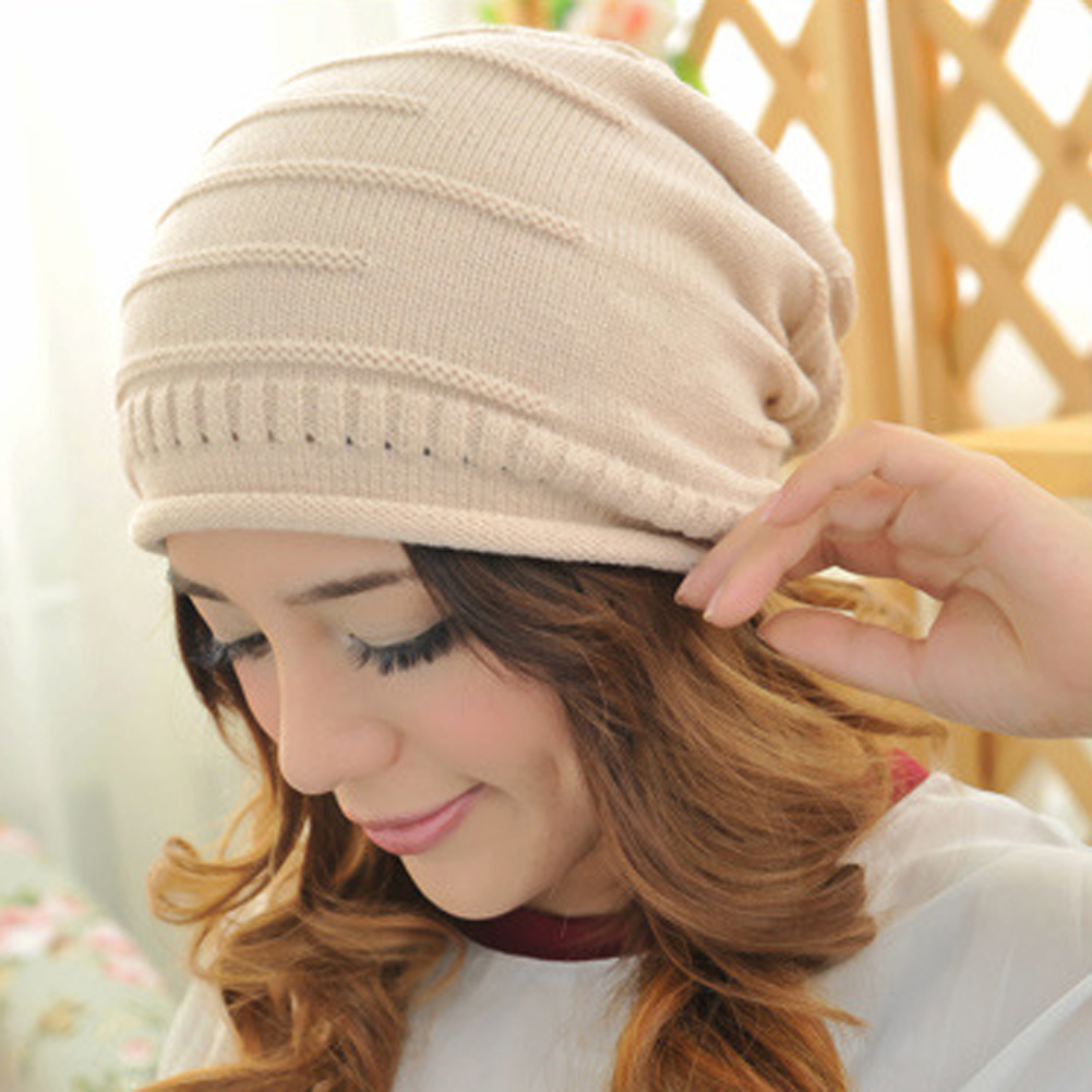 Fold Fashion Hip-hop Cap Winter Hats for Women Men Knitted Beanie Cap for Wool Brand Hat Female and Male Couples Knitted Hats 2017 new fashion autumn and winter wool leaves hollow out knitting hat thick female cap hats for girls women s hats female cap