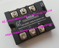 SA34025D (SA3-4025D)ゴールド新とオリジナルssr 3相dc制御acソリッドステートリレー25a