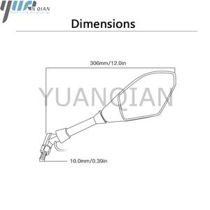 Image 4 - Pour DUCATI MONSTER 696 796 BMW KTM moto vélo de rue Cruiser indicateur rétroviseurs latéraux et clignotants LED intégrés