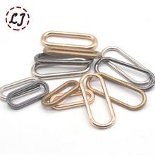 20 шт./лот, серебро, золото, бронза, 20 мм, 25 мм, 30 мм, соединение, овальное кольцо, сплав, металл, обувь, сумки, пряжки для одежды, аксессуары для шитья, сделай сам
