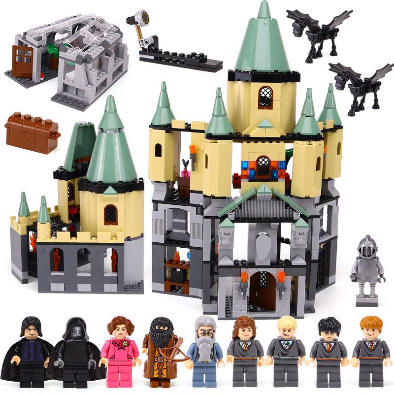 CX 16029 1033Pcs Model building kits Compatible with Lego 5378 Harry Potter Hogwort Castle 3D Bricks figure toys for children china brand 16029 educational bricks toys diy building blocks compatible with lego hogwarts castle 5378