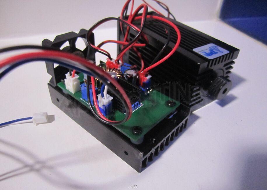 VRAIE 3500mw / 3.5w 445 445nm 450nm bleu Diode laser haute puissance - Éclairage commercial - Photo 3