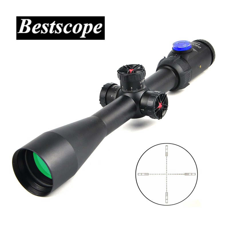 DISCOVERY HI 6-24X50 SF Tactical Rifle Scopes Zero Zoom Side Focus Riflescope For Hunting Scope Air Soft Rifle new arrival tactical discovery vt 3 4 16x44sfvf rifle scope for hunting bwr 096