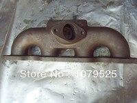 Dökme demir için turbo manifold Nissan 240SX S13 S14 SR20DET dökme demir turbo manifoldu T3 flanş