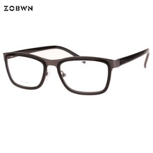 ZOBWN use Prescription Glasses Frame Men Oculos de grau masculinos Spectacle armacao oculos Myopia Women lentes opticos