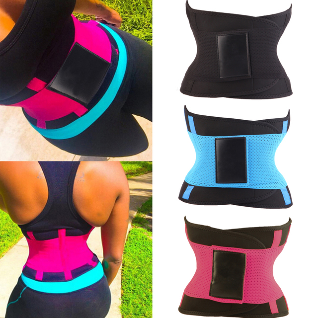 8484e9aba2 KSKshape Fitness Waist Trimmer Women Sexy Postpartum Corset Belt Firm Slimming  Belly Waist Trainer Girdles Body
