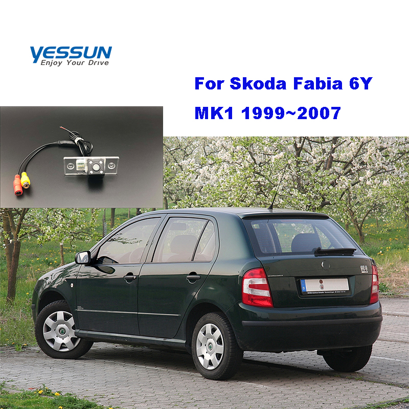 Yessun License Palte Camer For Skoda Fabia 6Y MK1 1999~2007 Car Rear View Camera  Parking Assistance License Plate Camera Backup