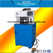 china BARNETT 2017 BNT81B hot air suspension automatic finn-power hydraulic hose crimping machine for air shocks with best price