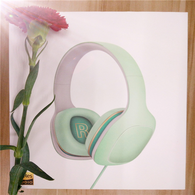 With Mic Headset Stereo Music HiFi Earphone Button original xiaomi mi headphones comfort version global version Easy Edition