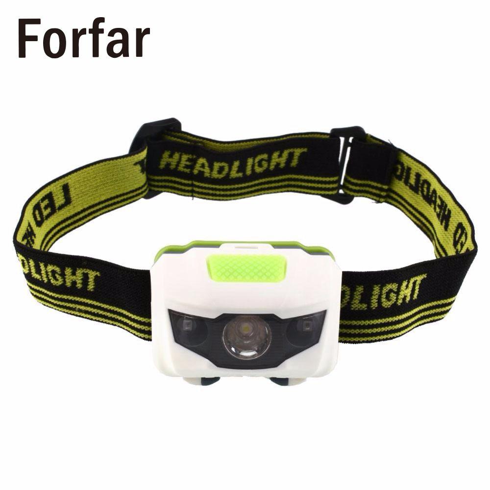 Forfar HOT Mini 600LM 3X R4+2 RED LED Headlamp Headlight Lamp*Torch Flashlight Cree T6 4