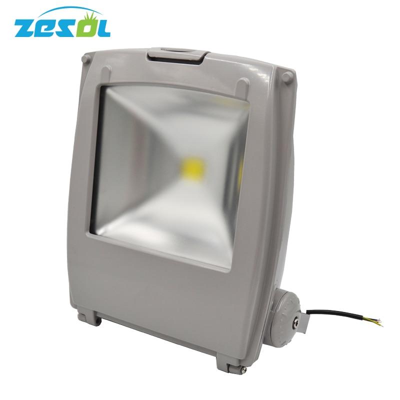 LED Flood Wash Light 100W 9500LM Led Floodlight Led Outdoor Flood Light 3Colors 85-265V LED Landscape Waterproof IP65 Aluminum